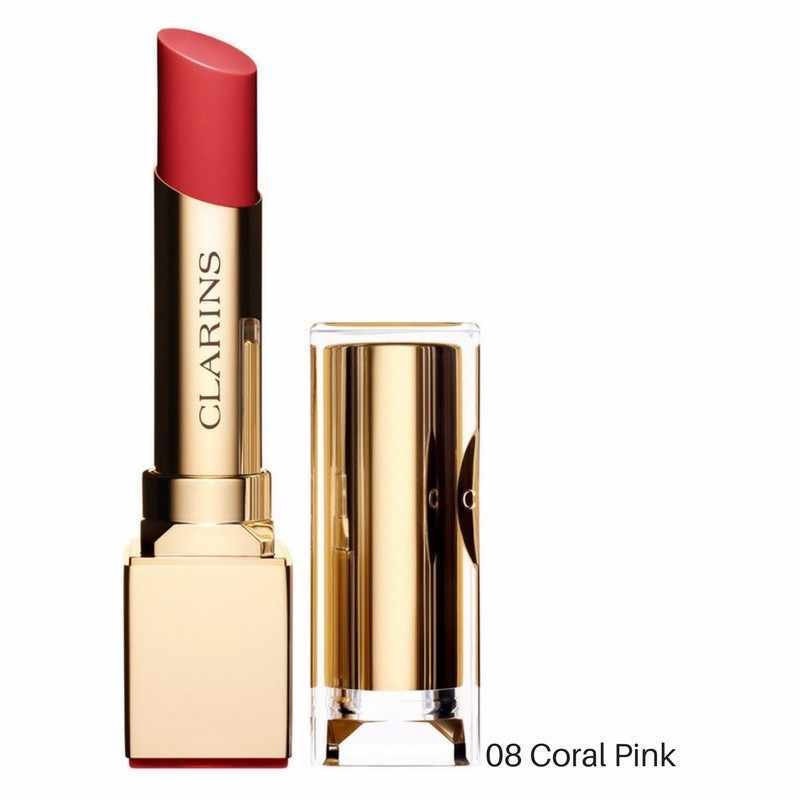 CLARINS ROUGE ECLAT 08 CORAL PINK 3 GR @