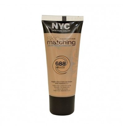 NYC SKIN FOUNDATION MATCHING 688 MEDIUM 30 ML REGULAR