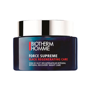 BIOTHERM HOMME FORCE SUPREME BLACK REGENERATING CARE CREMA ROSTRO 75 ML @