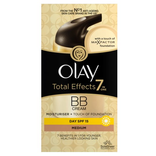 OLAY TOTAL EFFECTS 7 EN UNO BB CREAM DIA MEDIUM 50 ML @
