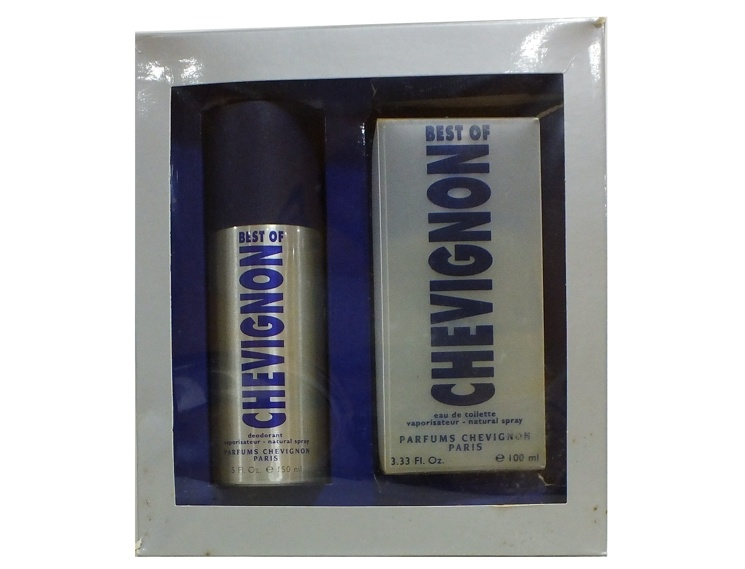 SET CHEVIGNON BEST OF MEN EDT 100 ML + DEO 150 ML REGULAR
