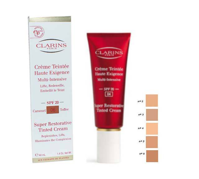 CLARINS CREMA COLOREADA CLARINS ALTA EXIGENCIA Nº 2 40ML @