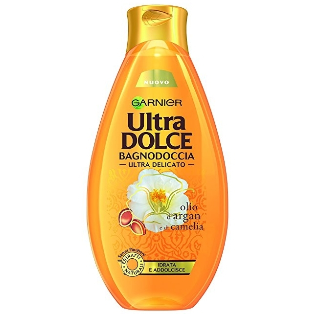 GARNIER GEL DUCHA ULTRA DELICADO ACEITE DE ARGAN Y CAMELIA 500 ML REGULAR