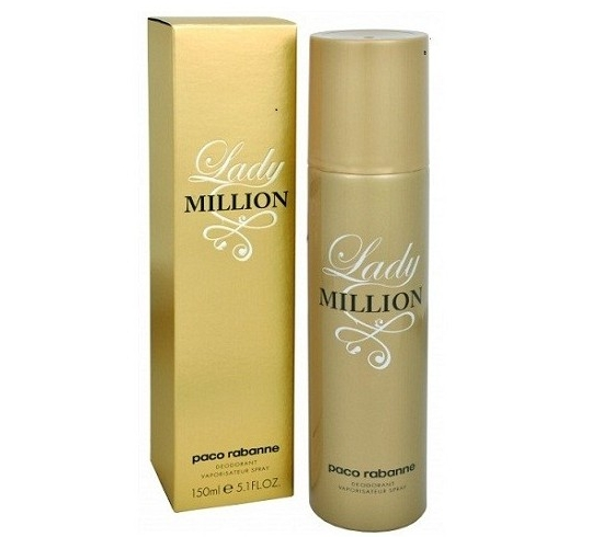 LADY MILLION PACO RABANNE DESODORANTE SPRAY 150ML REGULAR