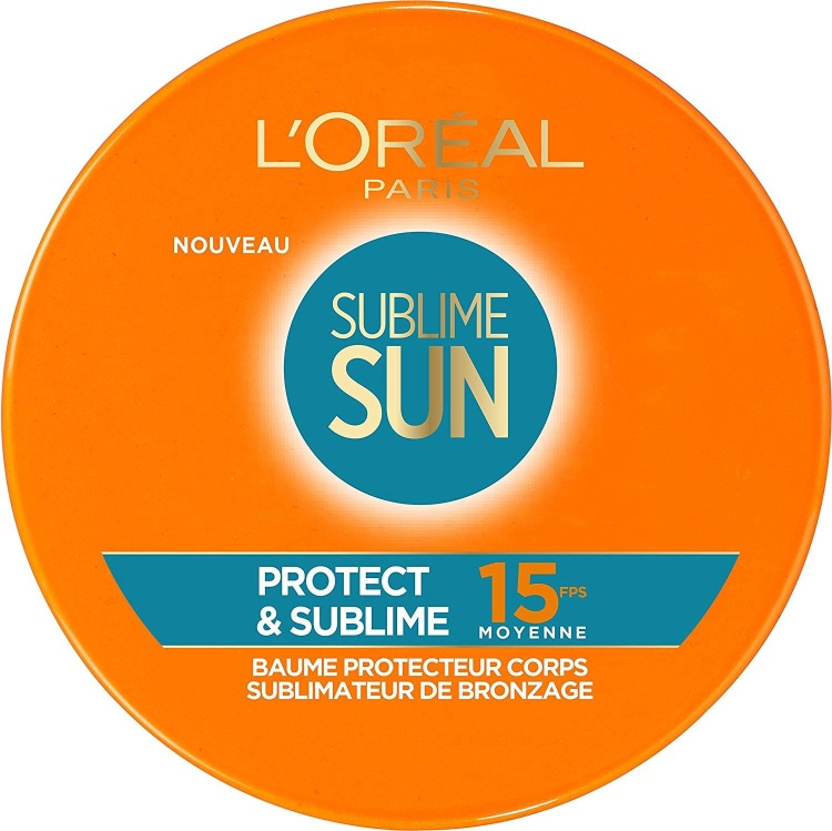 LOREAL SUBLIME SUN PROTECT & SUBLIME SPF15 BALSAMO PROTECTOR SUBLIMADOR CUERPO 100 ML REGULAR