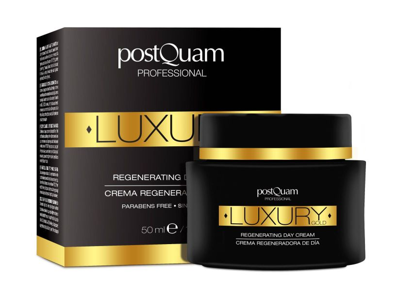 POSTQUAM LUXURY GOLD CREMA REGENERADORA DE DIA 50 ML REGULAR