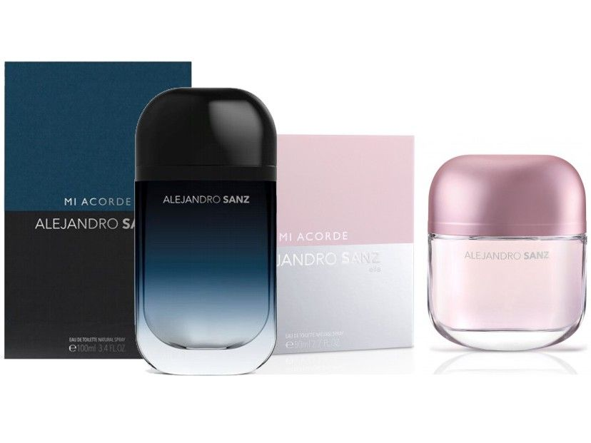 PACK ALEJANDRO SANZ A MI ACORDE FOR MEN EDT 100 ML @ + ALEJANDRO SANZ A MI ACORDE WOMAN EDT 80 ML @