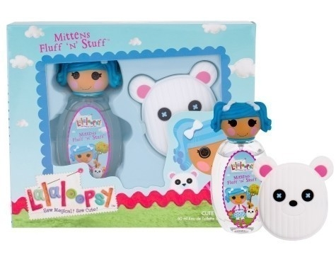 SET LALALOOPSY MITTEN FLUFF N STUFF EDT 50 ML + HAIR CLIP REGULAR