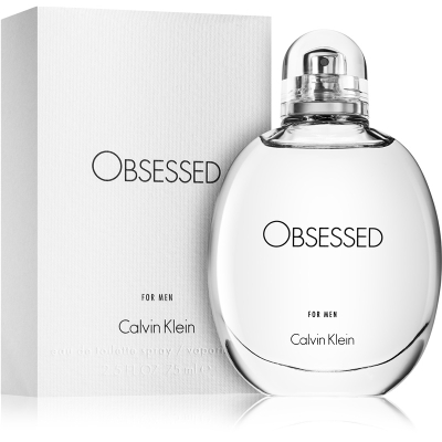 CK OBSESSED MEN EDT 125ML @ (85% del contenido)