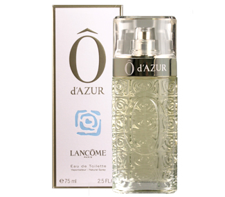 Ô D`AZUR EDT 75 ML @