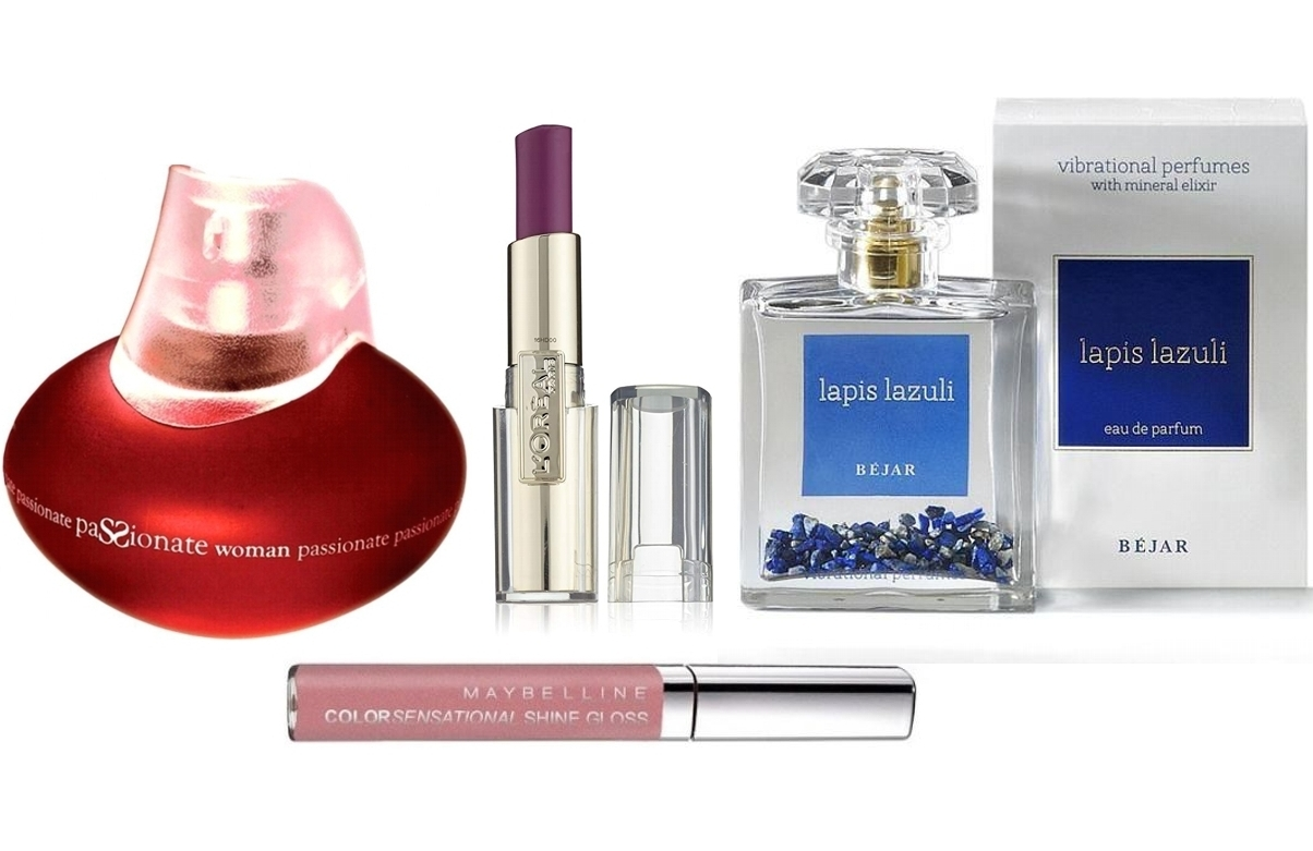 PACK RAMON MOLVIZAR PASSIONATE WOMAN EDP 100 ML @ + LAPIS LAZULI EDP 100 ML @ + LOREAL BARRA DE LABIOS CARESSE 602 ROCK IN MAUVE REGULAR + MAYBELLINE COLOUR SENSATIONAL SHINE GLOSS 137 FABULOUS PINK