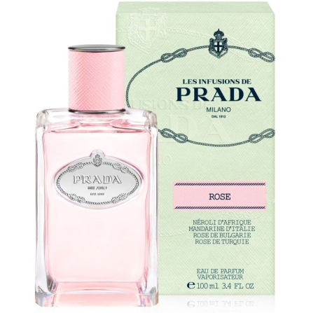 PRADA INFUSION DE ROSE EDP 100 ML @ (Sin caja)