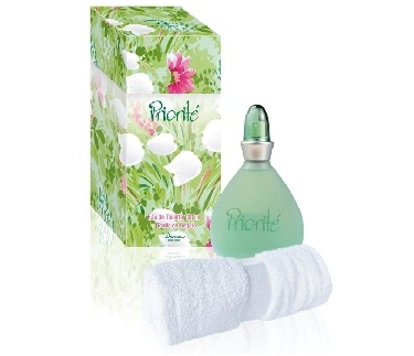 SET CAJA PRIORITE EDT 100 ML REGULAR + TOALLA