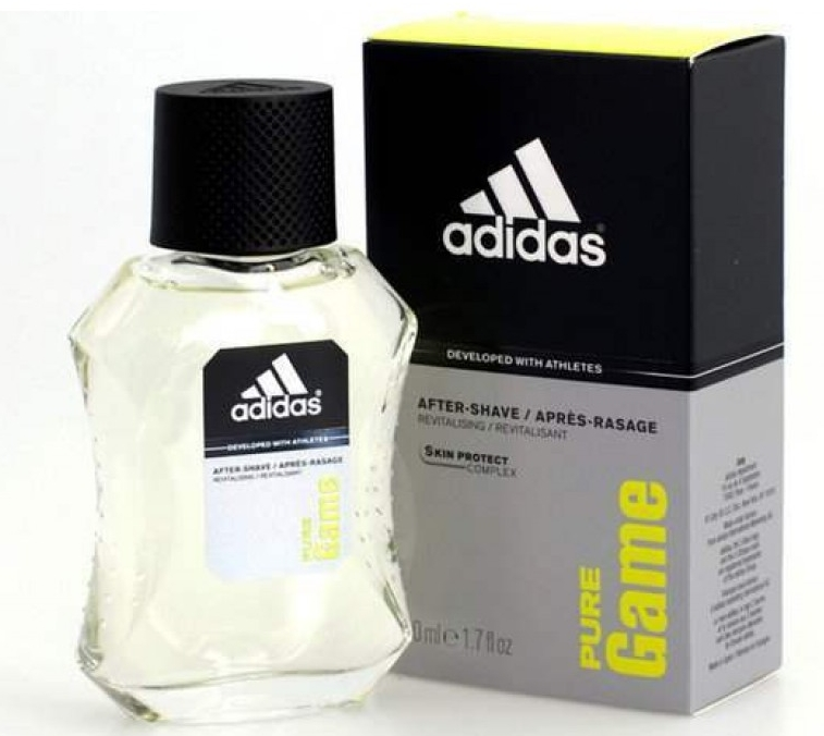 ADIDAS PURE GAME AFETR SHAVE 100 ML @ (Sin caja)