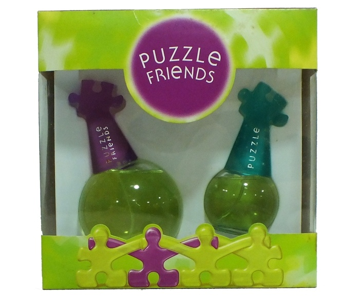 SET PUZZLE FRIENDS EDT 100 ML REGULAR + EDT 30 ML REGULAR