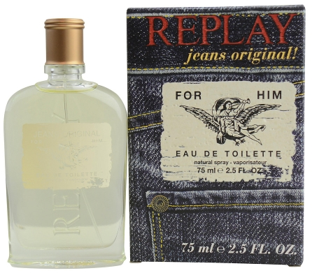 SET REPLAY JEANS ORIGINAL MEN EDT 30 ML + SHOWER GEL 100 ML