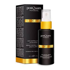 POSTQUAM LUXURY GOLD SERUM EFECTO LIFTING SIN PARABENOS 30 ML REGULAR