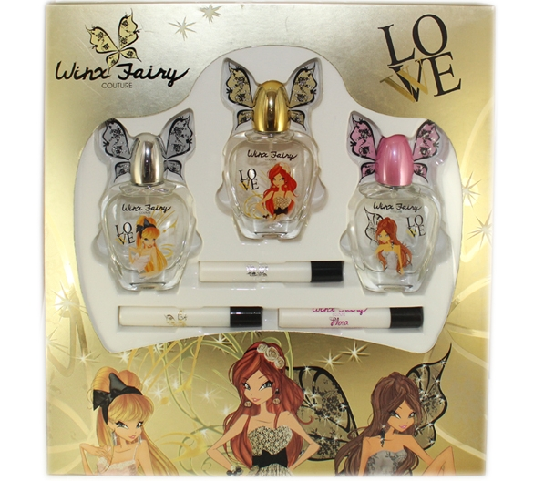 SET WINX FAIRY BLOOM EDT 50 ML x 3 UNIDADES + 3 ROLLERBALL 8 ML REGULAR