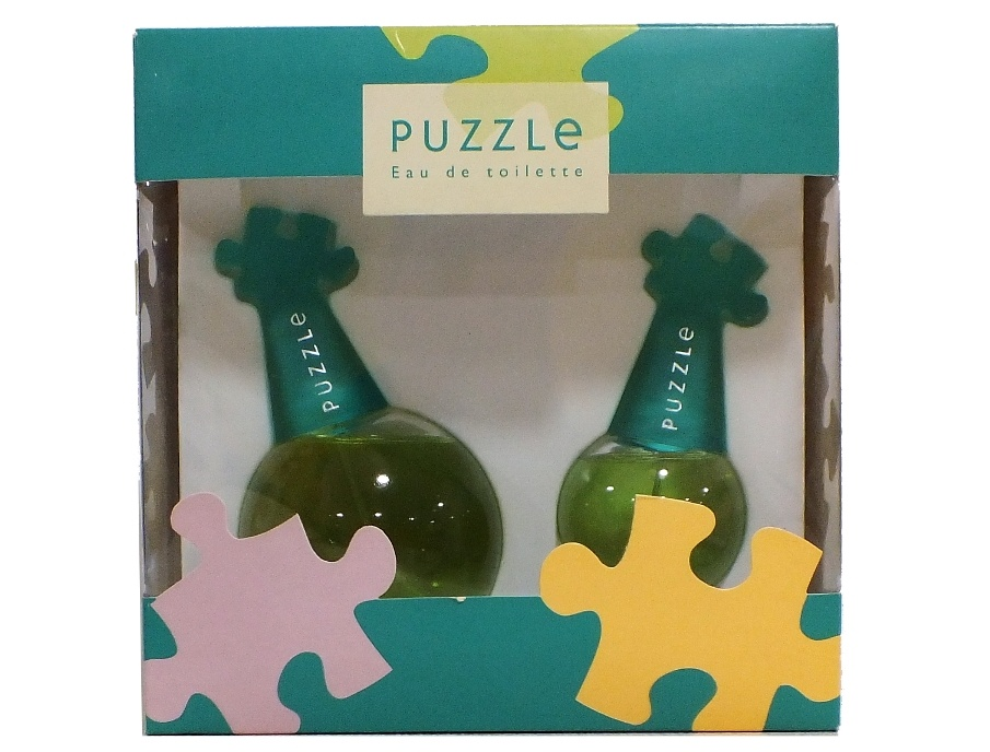 SET PUZZLE EDT 100 ML REGULAR + EDT 30 ML REGULAR