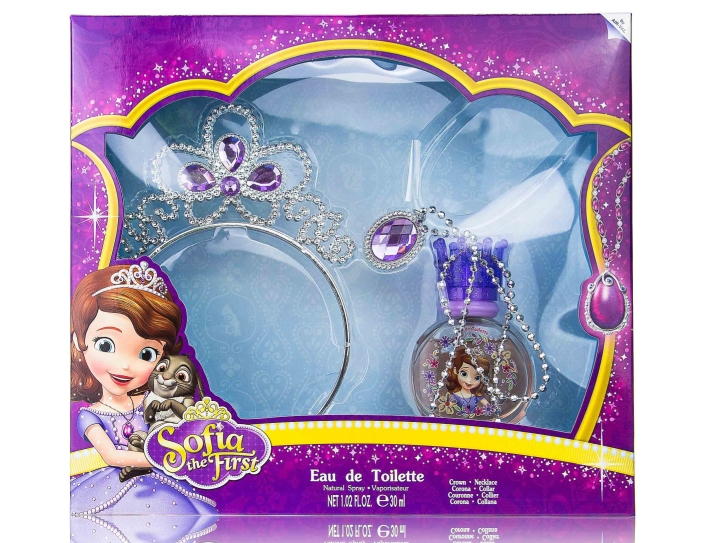 SET SOFIA THE FIRST EDT 30 ML + CORONA + COLGANTE REGULAR