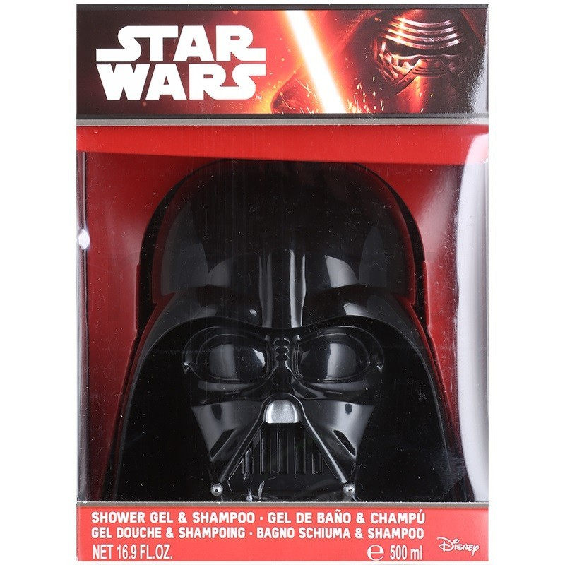 STAR WARS 3D SHOWER GEL CHAMPU 500 ML AIR REGULAR