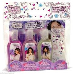 SET VIOLETTA TRAVEL EDT 75 + GEL DUCHA + CHAMPU REGULAR