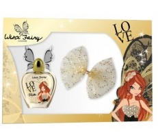 SET WINX FAIRY BLOOM EDT 50 + PINZA PELO REGULAR
