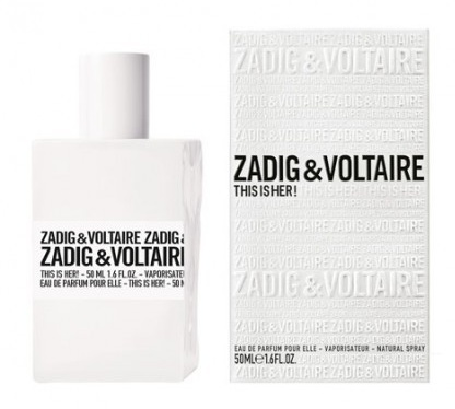 ZADIG & VOLTAIRE THIS IS HER EDP 100 ML (Sin caja)